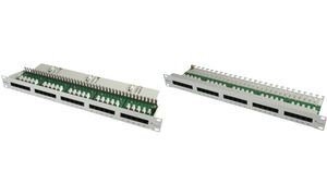 "Telegärtner 19"" ISDN Patch Panel 50 ISDN RJ45 Port 8(4)"
